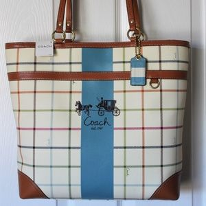 Coach Heritage Tote